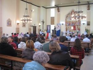 Białoruś, Witebsk: podwójna uroczystość