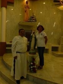Meksyk, Campeche – br. Salvador SDS odnawia śluby zakonne