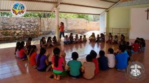 """Meksyk, Campeche: Mision """"Pascua"""" - misje salwatorianskie na wioskach Majow - 2015"""