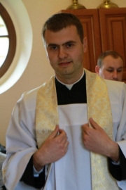 Ukraina, Swalawa: Msza święta prymicyjna 2016