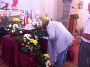 Ukraina, Brzozdowce: Pielgrzymka do relikwii Jana Pawla II [23-05-2014]