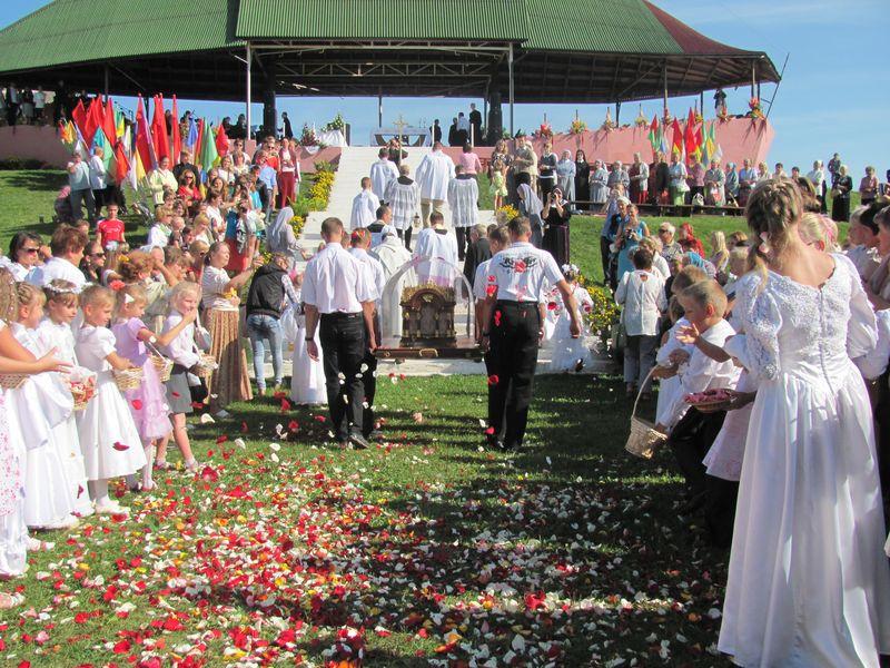 Brasław, Białoruś: Święta Tereska u Królowej Jezior