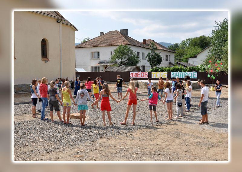 Swalawa, Ukraina: Spotkanie młodych i uroczystości odpustowe 2013