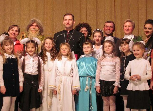 Brasław, Białoruś: Biskupie prymicje