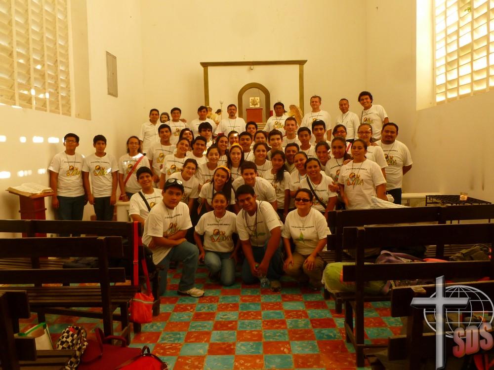 Campeche, Meksyk: Misje salwatoriańskie w Bolonchen