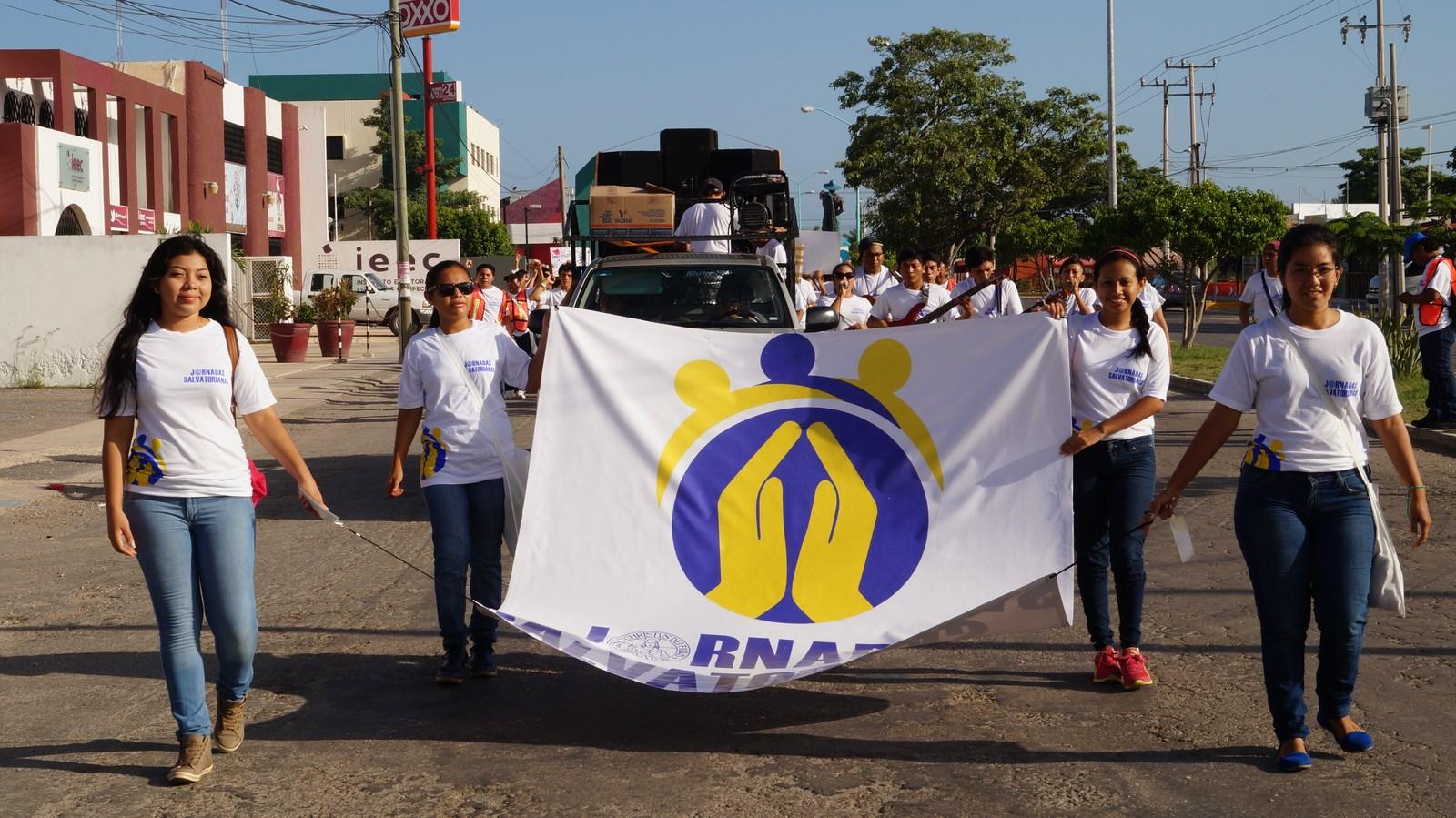 Meksyk, Campeche: Jornadas Salvatorianas 2014