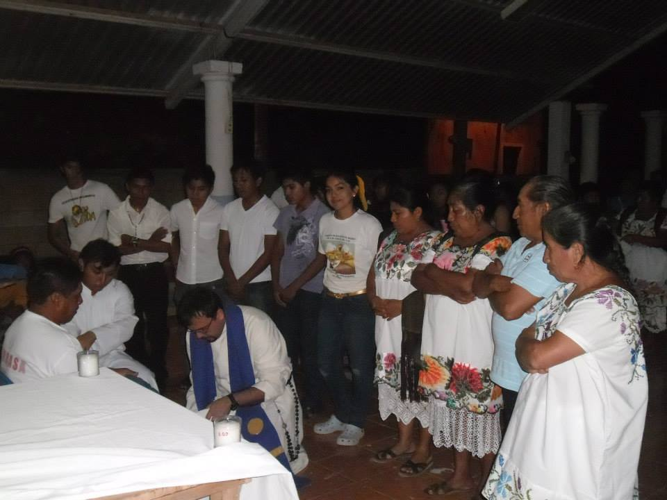 Meksyk, Campeche: Salwatorianie modlą się za misje i misjonarzy