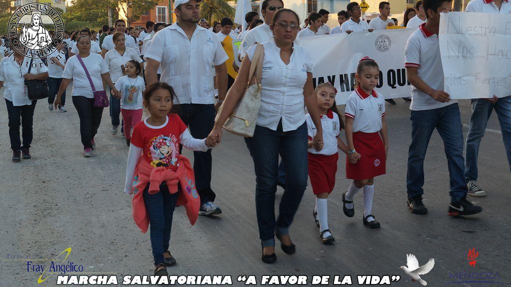 Meksyk, Campeche: Marsz salwatoriański dla życia