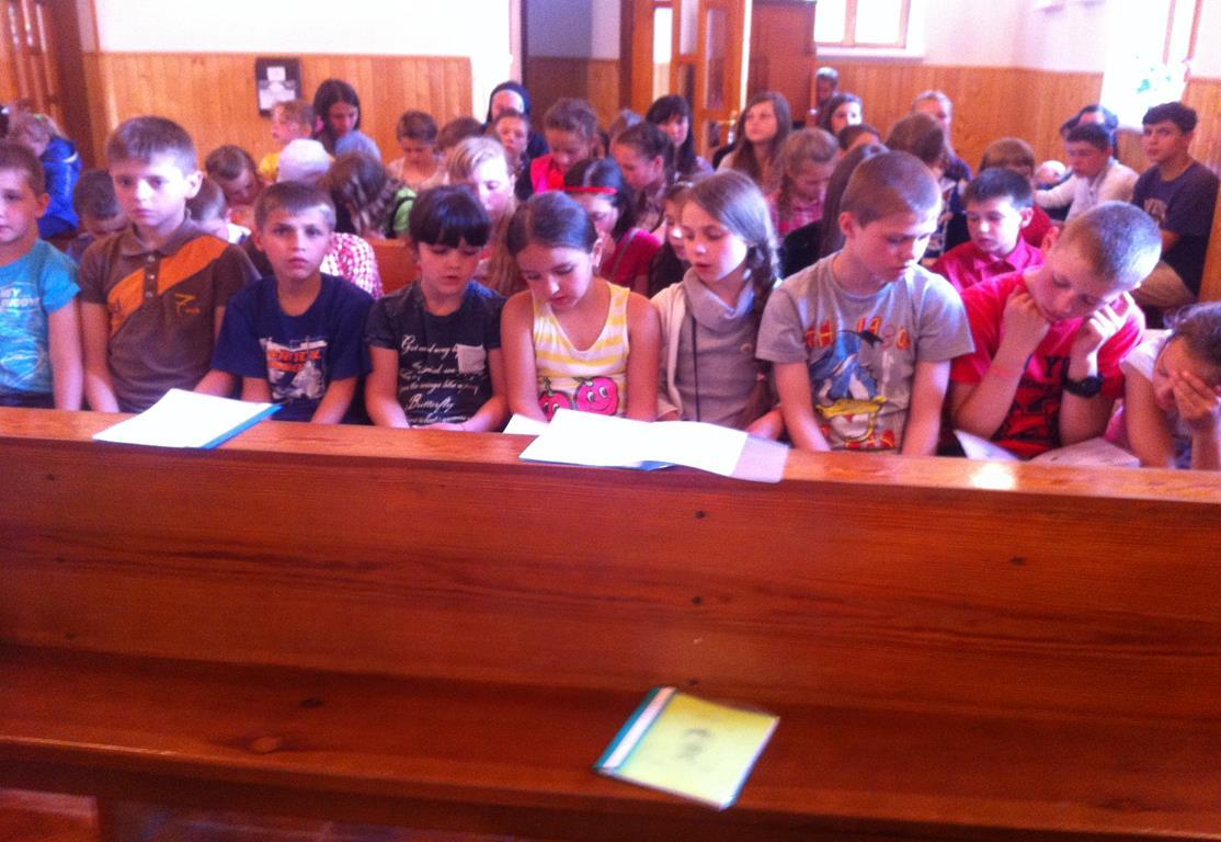 Ukraina, Brzozdowce: Dzieci z Brzozdowiec pod Howerlą