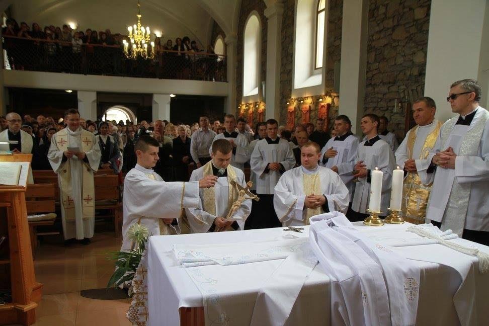 Ukraina, Swalawa: Msza święta prymicyjna