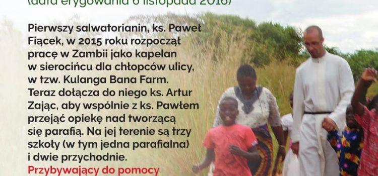 Pomóż pomagać! – misje w Zambii